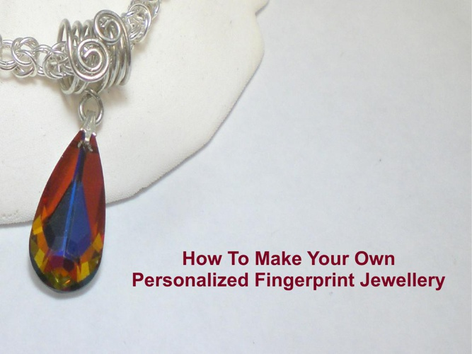 How To Make Your Own Personalized Fingerprint Jewellery