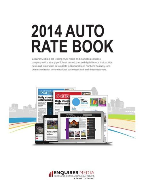 Enquirer Media Automotive Advertiser Rate Card