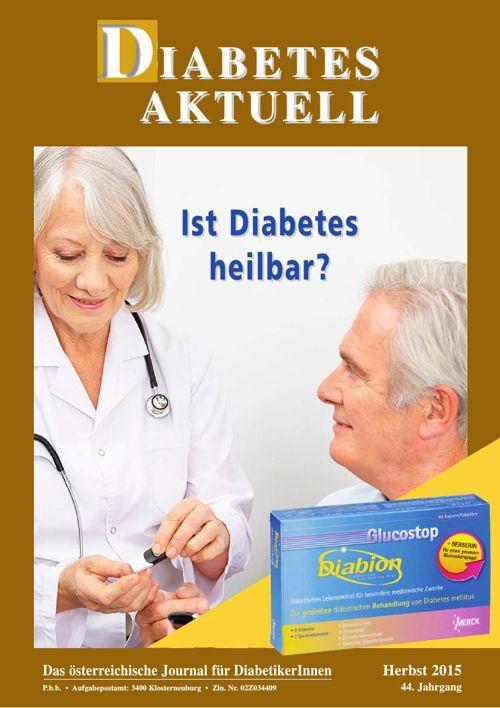 Diabetes Aktuell Herbst 2015