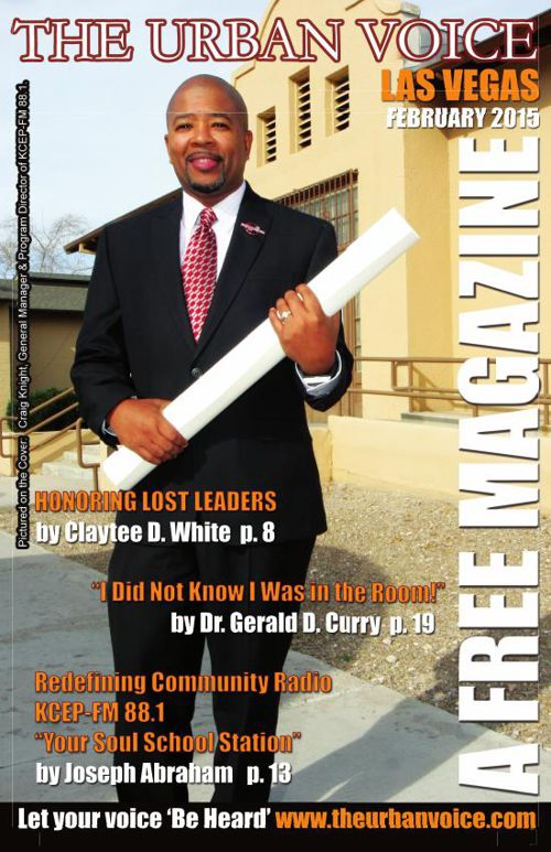 FEBRUARY 2015 EDITION of The Urban Voice, Las Vegas MEDIUM