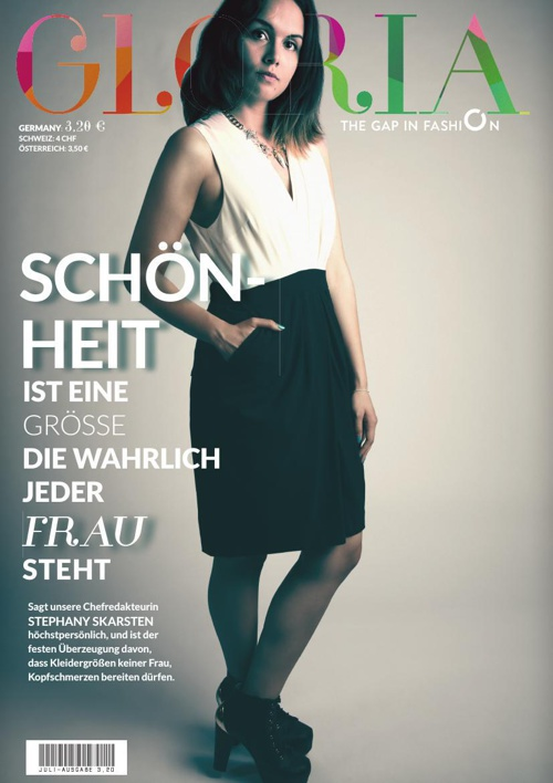 Steffanie Bartke: Gloria Magazin (Editorial Design)