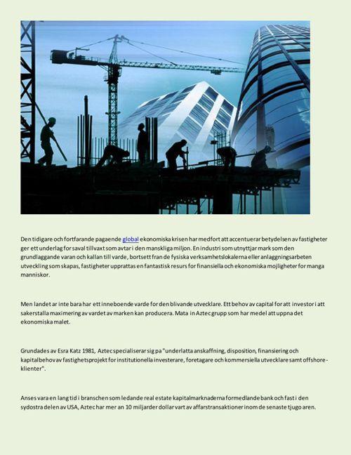 Aztec Group Inc - Premiere Bank foretaget i Real Estate Industry