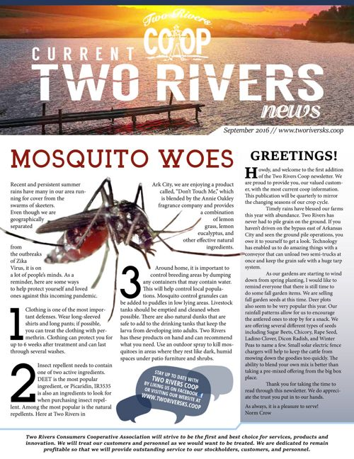 Current Two Rivers News | September 2016
