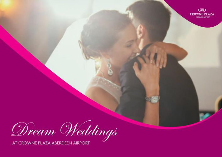Crowne Plaza Aberdeen Airport Wedding Brochure