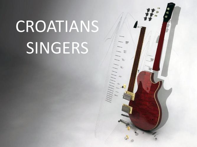 Croatian singers