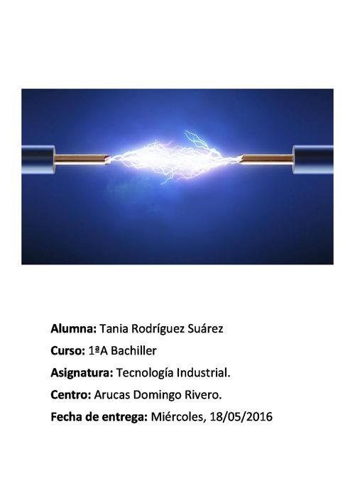 ELECTRICIDAD, Tania Rodríguez.