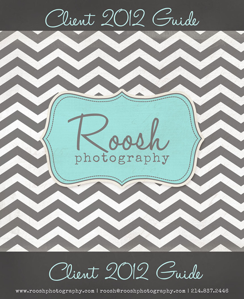 Roosh Photography Client 2012 Guide
