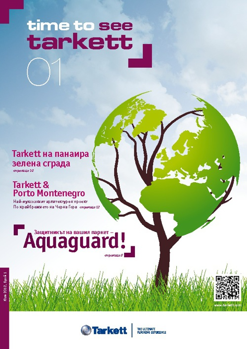 Tarkett Time to see magazine BUG