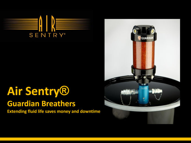 Air Sentry Desiccant Breathers - the GUARDIAN