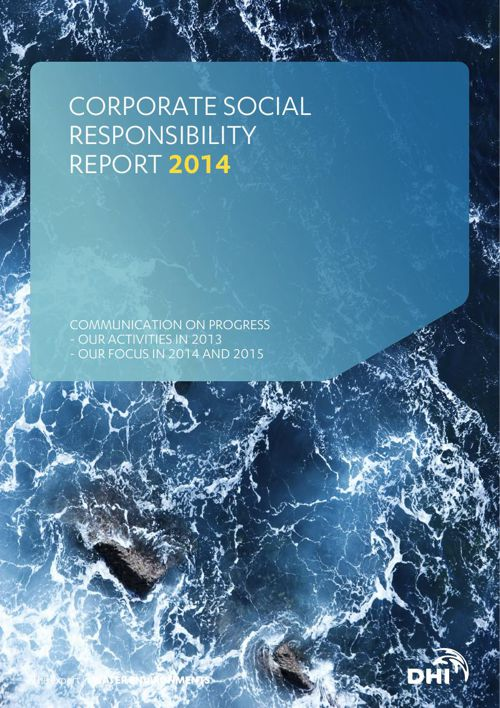 DHI Corporate Social Responsibility Report 2014