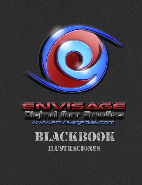 Ilustraciones Blackbook Envisage DIgital Art Studios