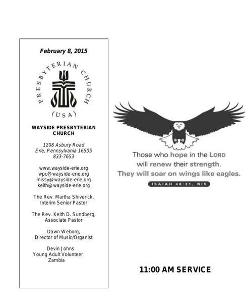 2-8-15 11AM Worship