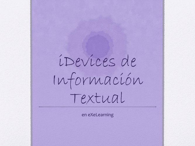 Idevices_InfTextual