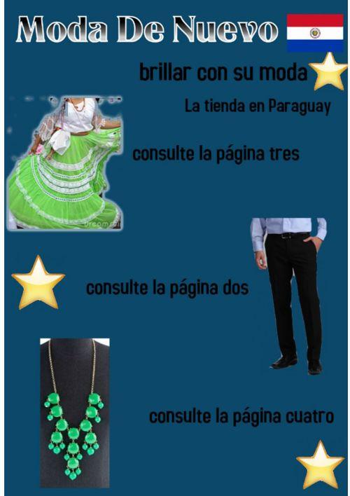Spanish Clothing Ad Paraguay