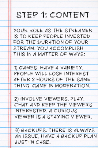 The Streamers Survival Guide