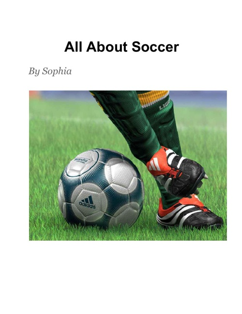 All About Soccer