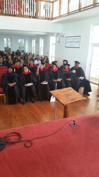 Bermuda Graduation