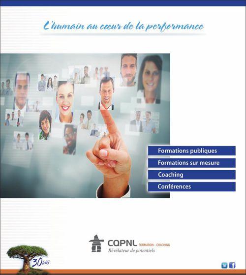 CQPNL, brochure Services aux entreprises