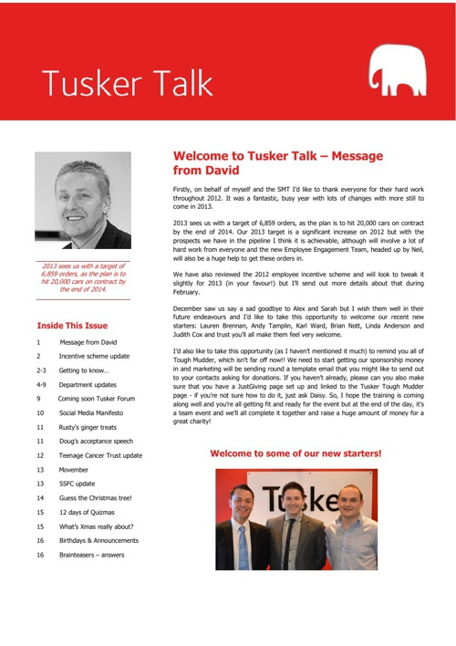 Tusker Talk Issue 7 + 8