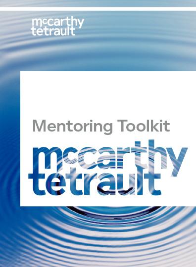 McCarthy Tetrault - Mentoring Toolkit
