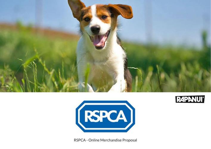 RSPCA Online Merchandise Proposal
