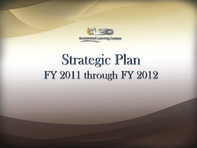T.LAB Strategic Plan DWO Update