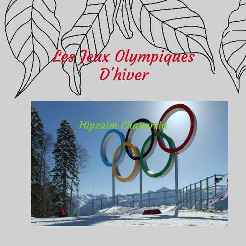 J'aime les Jeux Olympiques d'hiver