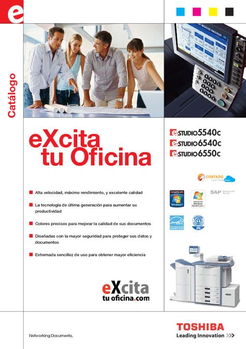 Catálogo e-STUDIO5540c/6540c/6550c