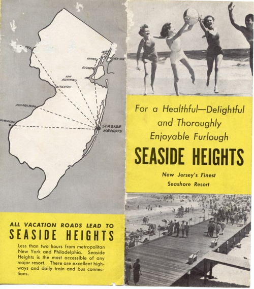 Vintage Seaside Heights Brochure #1