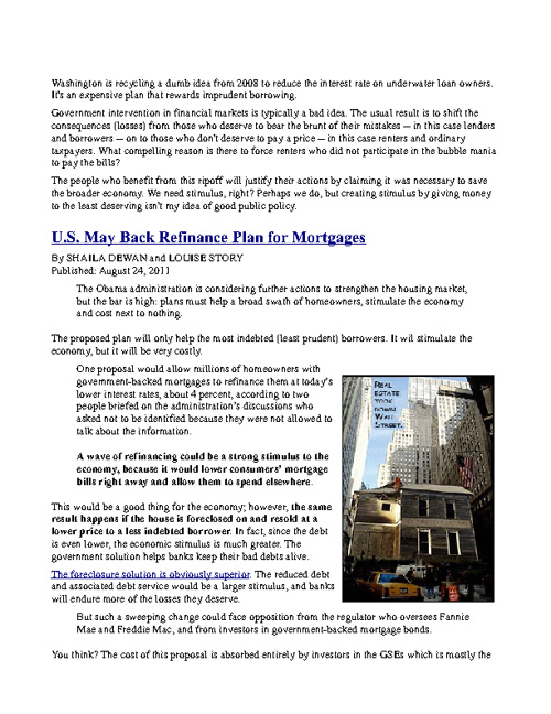 Financial Articles