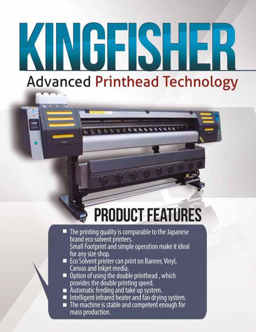 King Fisher 1800 y 3200