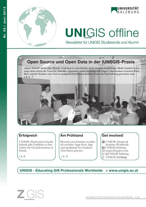 UNIGIS offline 02/2013