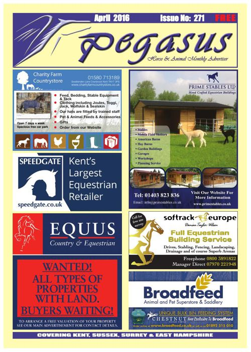 Pegasus Magazine April 2016 Online issue