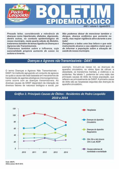 Informe Epidemiológico Pedro Leopoldo