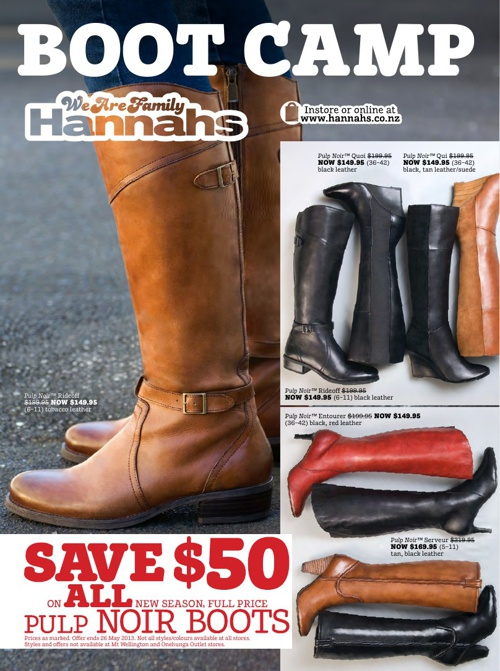 Hannahs May mailer 2013