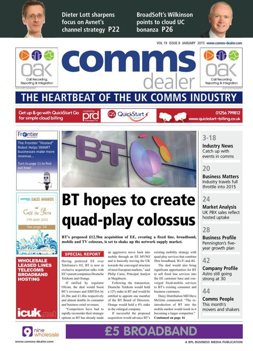 Comms Dealer 2015 - January Issue