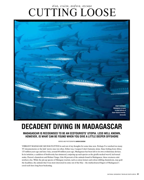 Copy of National Geographic Traveller - Madagascar
