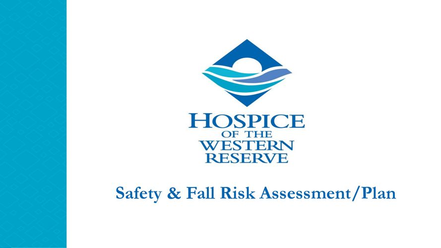 2017 Safety & Fall Risk Assessment/Plan