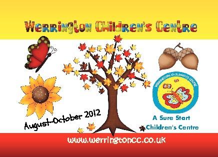 Children's Centre brochure Aug-Oct 2012