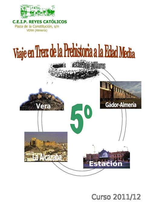 VISITA LOS MILLARES - TREN - LA ALCAZABA