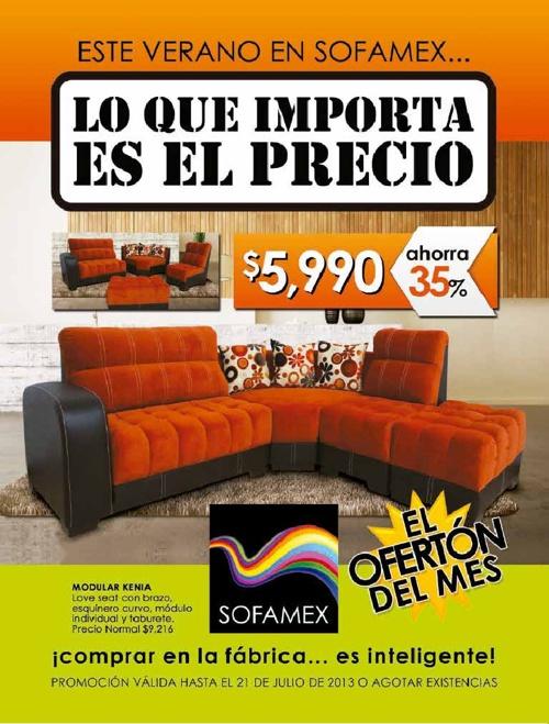 Catálogo Sofamex de Julio