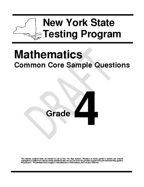 Common Core Grade 4