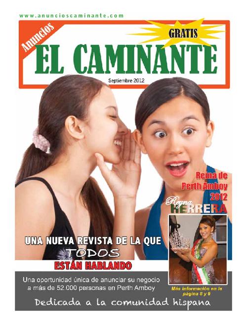 El Caminante September 2012