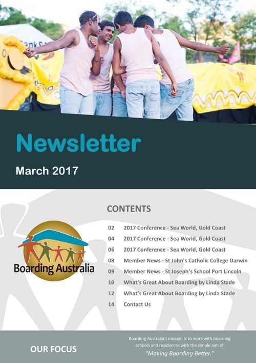 Boarding Australia March 2017 Newsletter