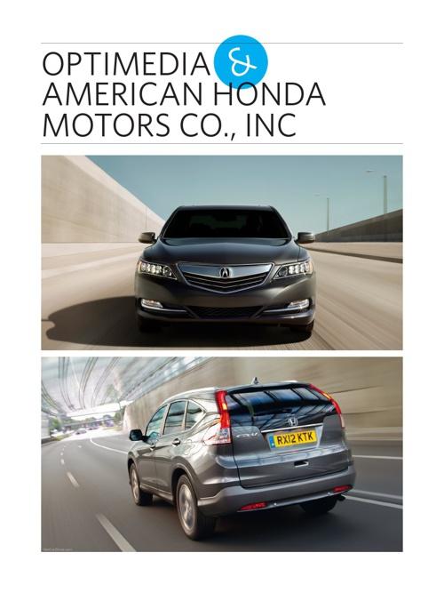 Honda/Acura Brochure
