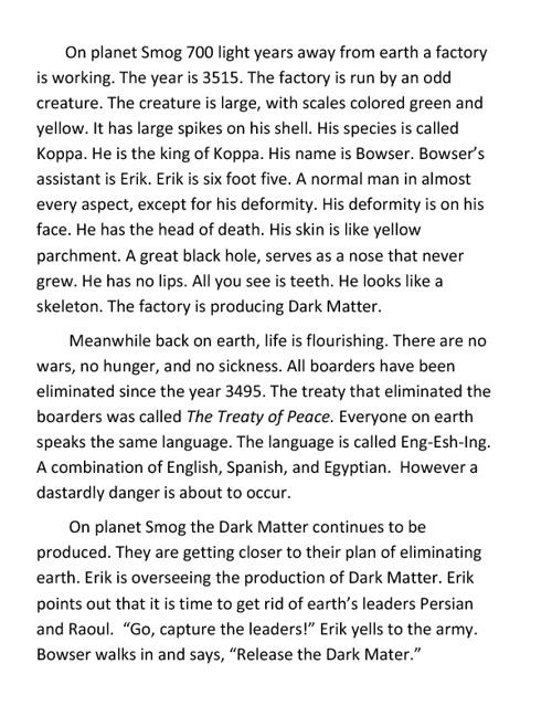 Bowser's dark matter