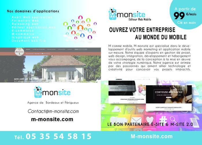 plaquette M-monsite