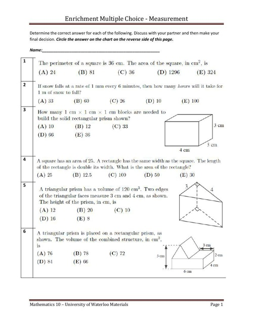 Domain and range worksheets with answers