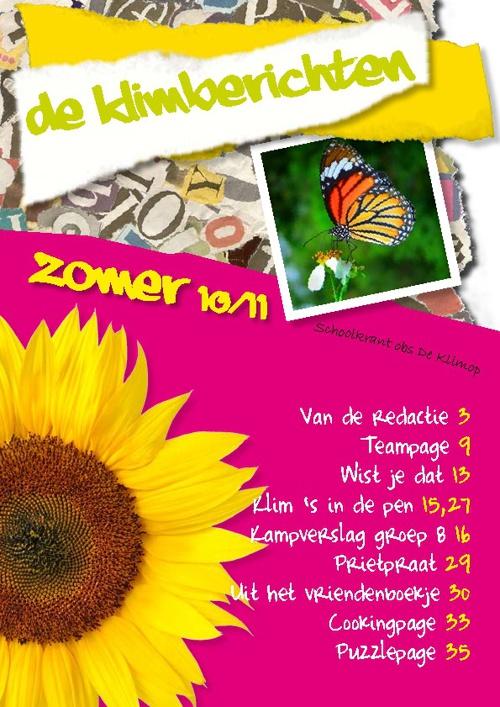 Klimop Schoolkrant