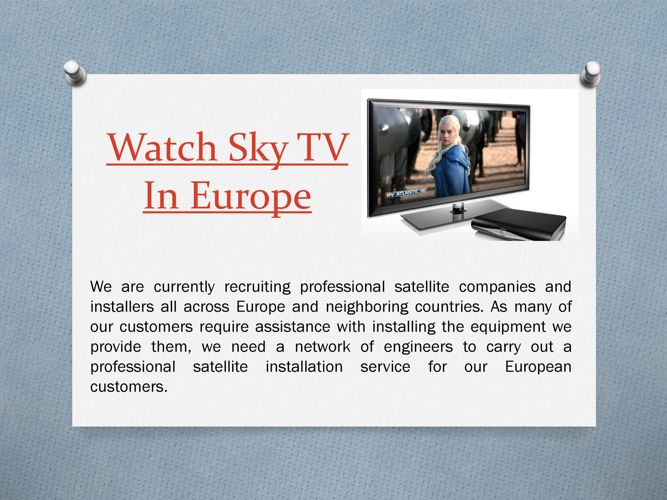 Order Sky Tv In Europe